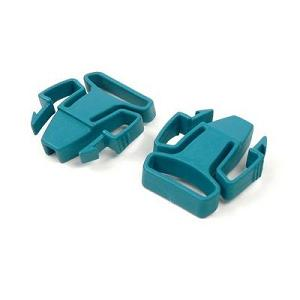 ResMed Replacement Parts : # 60115 Mirage Activa, Mirage Quattro and Ultra Mirage Full Face Headgear Clips , 2/ Pkg (Green)