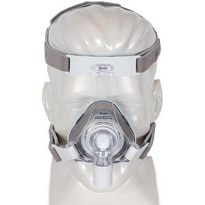 Philips-Respironics CPAP Nasal Mask : # 1071803 TrueBlue Gel with Headgear  , Medium