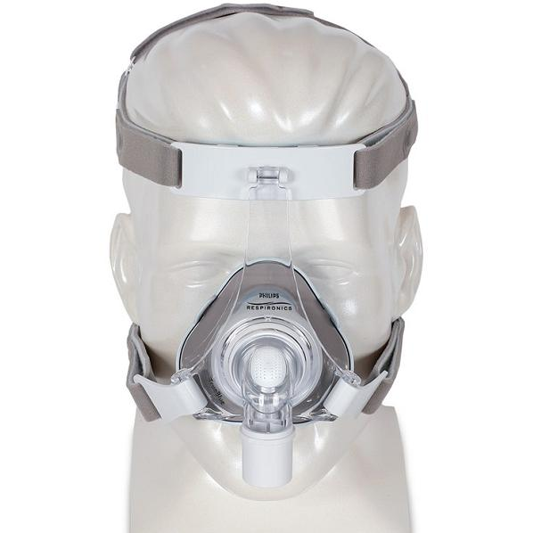 Philips-Respironics CPAP Nasal Mask : # 1071803 TrueBlue Gel with Headgear  , Medium-/catalog/nasal_mask/respironics/1071800-01