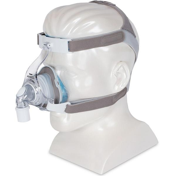 Philips-Respironics CPAP Nasal Mask : # 1071803 TrueBlue Gel with Headgear  , Medium-/catalog/nasal_mask/respironics/1071800-03