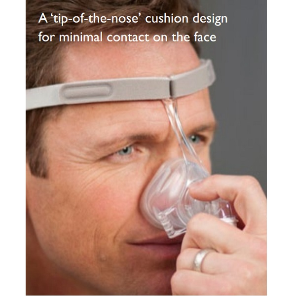 Philips-Respironics CPAP Nasal Mask : # 1104915 Pico with Headgear , Small/Medium-/catalog/nasal_mask/respironics/1104940-04