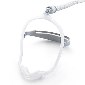 Philips-Respironics CPAP Nasal Mask : # 1116700 DreamWear Under the Nose  FitPack , Med frame - sm, med, mw, lg pillows