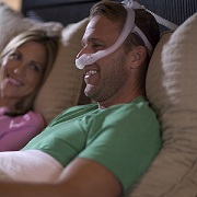 CPAP: DreamWear Under the Nose w/ Headgear