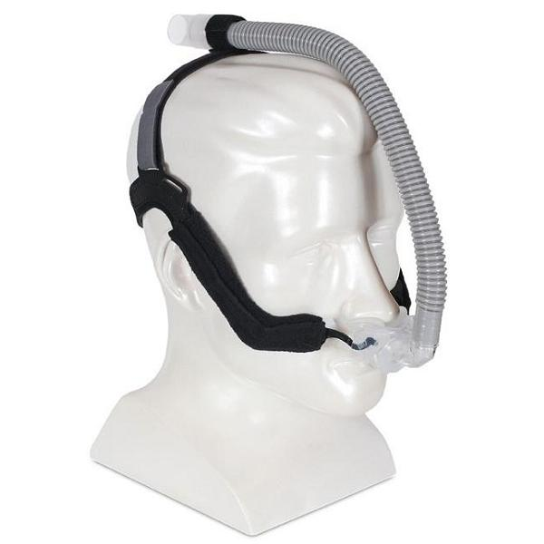 DeVilbiss CPAP Nasal Pillows Mask : # ALO100 ALOHA with Headgear , Small, Medium, Large-/catalog/nasal_pillows/devilbiss/alo100-02