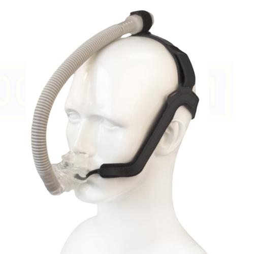 DeVilbiss CPAP Nasal Pillows Mask : # ALO100 ALOHA with Headgear , Small, Medium, Large-/catalog/nasal_pillows/devilbiss/alo100-03