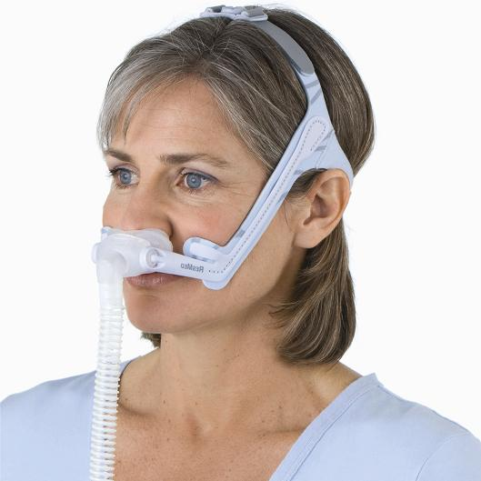 ResMed CPAP Nasal Pillows Mask : # 60588 Swift LT for Her with Headgear , Extra Small, Small, Medium Pillows-/catalog/nasal_pillows/resmed/60588-03