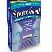 CPAP: Snore Seal Disposable Anti-Snoring Strips