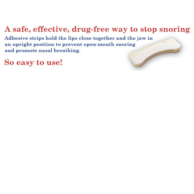 Snore-Seal Accessories : # 14 Snore Seal Disposable Anti-Snoring Strips-/catalog/snoring_solutions/snore-seal-03