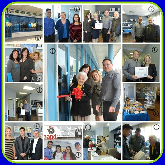 Grand Opening of CPAP Clinic in Mississauga, Ontario, Canada