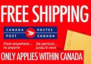 We will get your order absolutely FrEE with Expedited Canada Post